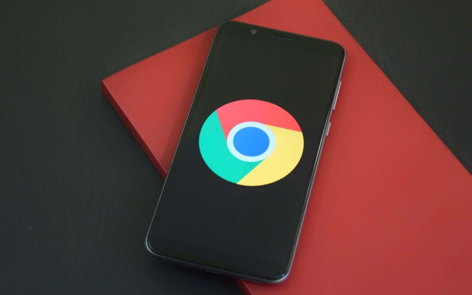 android chrome browser VOORUIT knop